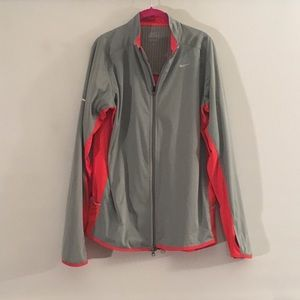 Nike Grey Red Jacket L